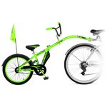 more details on Weeride Adult Co Pilot Trainer Bike - Green.