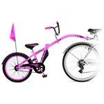 more details on Weeride Adult Co Pilot Trainer Bike - Pink.