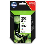 more details on HP 302 Black/Tri-Colour Ink Cartridge Pack.