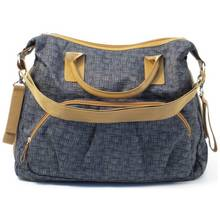 Summer Infant Tote Changing Bag - Charcoal Tan.