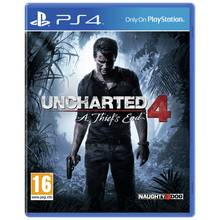 Uncharted 4: A Thief's End PS4 Game