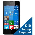 more details on Vodafone Microsoft Lumia 550 Mobile Phone – Black.