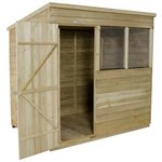 more details on Forest Overlap 7x5ft Pent Shed with Installation.