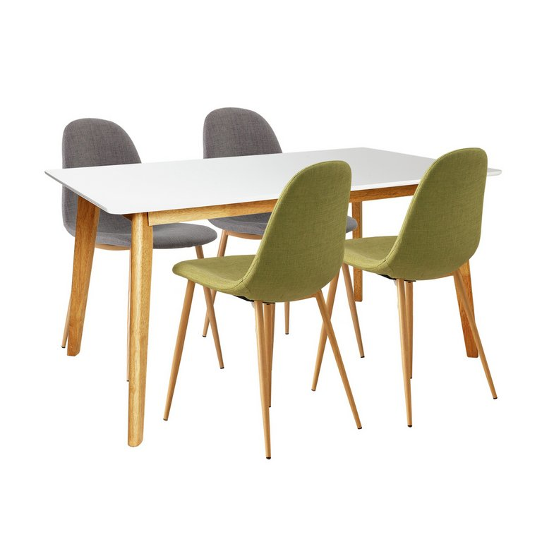 Buy Hygena Beni Dining Table and 4 Chairs GreenGrey at  : 5063877RSETMain768ampw620amph620 from www.argos.co.uk size 620 x 620 jpeg 28kB