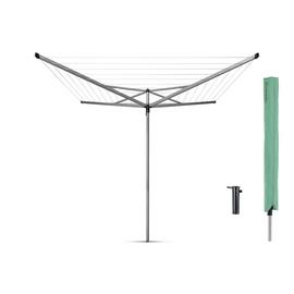Brabantia 40m 4 Arm Compact Washing Line and Cover