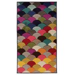 Jazz Florid Rug - 120x170cm - Multicoloured