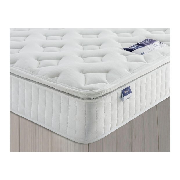 Buy silentnight stanfield pillowtop single mattress at for Online shopping for mattress