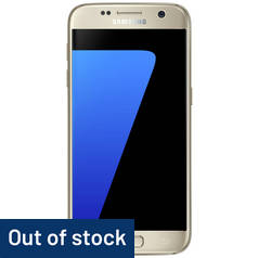 SIM Free Samsung Galaxy S7 32GB Mobile Phone - Gold