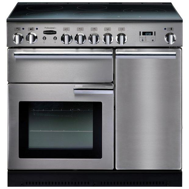 buy rangemaster professional 90cm electric range cooker at. Black Bedroom Furniture Sets. Home Design Ideas