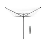 more details on Brabantia 60 Metre Top Spinner Rotary Airer.