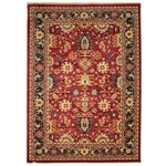 Pasha Topaz Rug - 112x170cm - Red and Gold