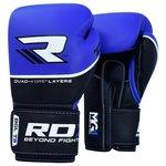 more details on RDX Quad Kore 16oz Boxing Gloves - Blue.
