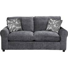 HOME Tabitha 2 Seater Fabric Sofa Bed - Charcoal