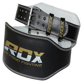 RDX Medium Weight Lifting Padded Belt - Black