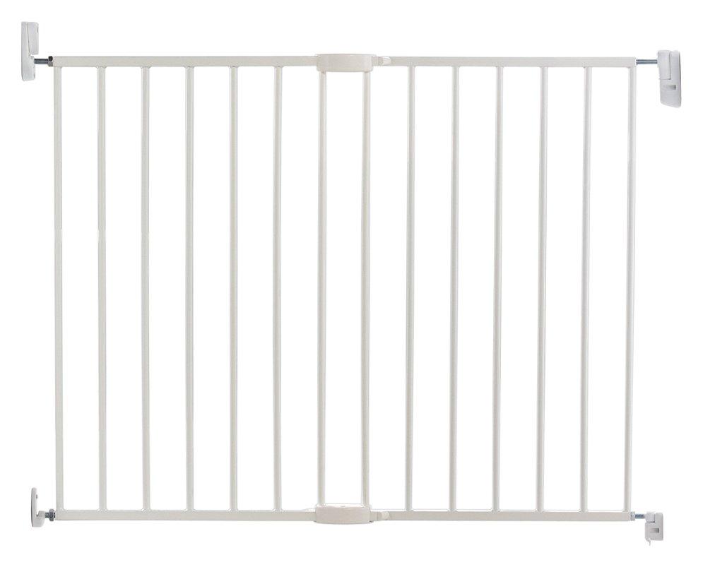 Buy Lindam Wall Fix Push To Shut Extending Metal Safety Gate   Safety Gates    Argos