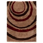 Equator Rug - 120x170cm - Red