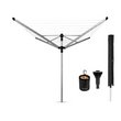 more details on Brabantia Liftomatic 60 Metre Airer with Cover and Peg Bag.