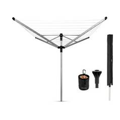 Brabantia Liftomatic 60 Metre Airer with Cover and Peg Bag