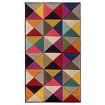 Jazz Kaleidoscope Rug - 120x170cm - Multicoloured