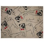 Funky Pug Rug - 120x160cm - Multicoloured