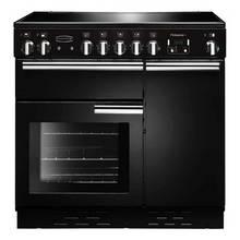Rangemaster Professional 90cm Electric Range Cooker - Black