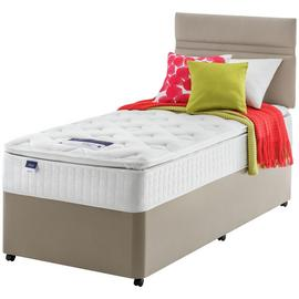 Silentnight Stanfield Pillowtop Divan Bed - Single.