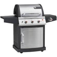 Landmann Miton 3 Burner Gas BBQ with Side Burner