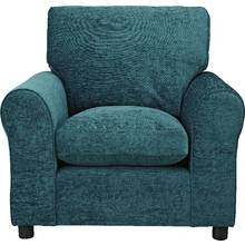 HOME Tabitha Fabric Armchair - Teal