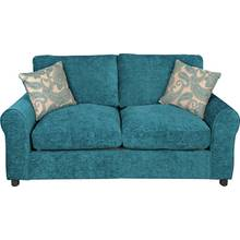 HOME Tabitha 2 Seater Fabric Sofa Bed - Teal