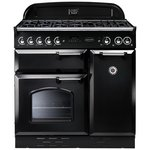 more details on Rangemaster Classic 90cm Gas Range Cooker - Black.