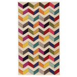Jazz Constrast Rug - 120x170cm - Multicoloured