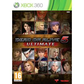 Dead or Alive 5: Ultimate Xbox 360 Game.