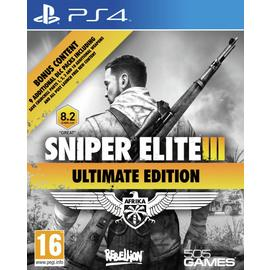Snipers Elite 3 Ultimate Edition PS4 Game