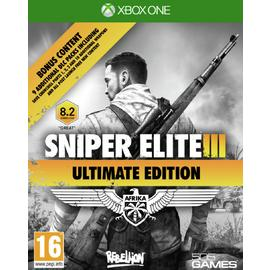 Sniper Elite 3: Ultimate Edition Xbox One Game.
