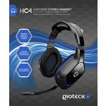 more details on Gioteck HC4 Wired Stereo Gaming Headset for PS4.