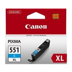 more details on Canon CLI-551 XL Cyan Ink Cartridge.