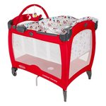 more details on Graco Contour Electra Travel Cot - Circus.