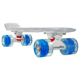 Mello LED 22 Inch Cruiser Skateboard - Blueberry Slush.