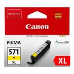 more details on Canon CLI-571 XL Yellow Ink Cartridge.