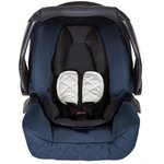 more details on Graco Snugfix Group 0 Plus Car Seat - Navy.