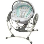 more details on Graco Glider Elite Swing - Clouds.