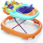 more details on Chicco Walky Talky Baby Walker - Orange.