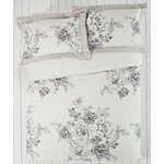 more details on Collection Aimee Natural Floral Bedding Set - Double.