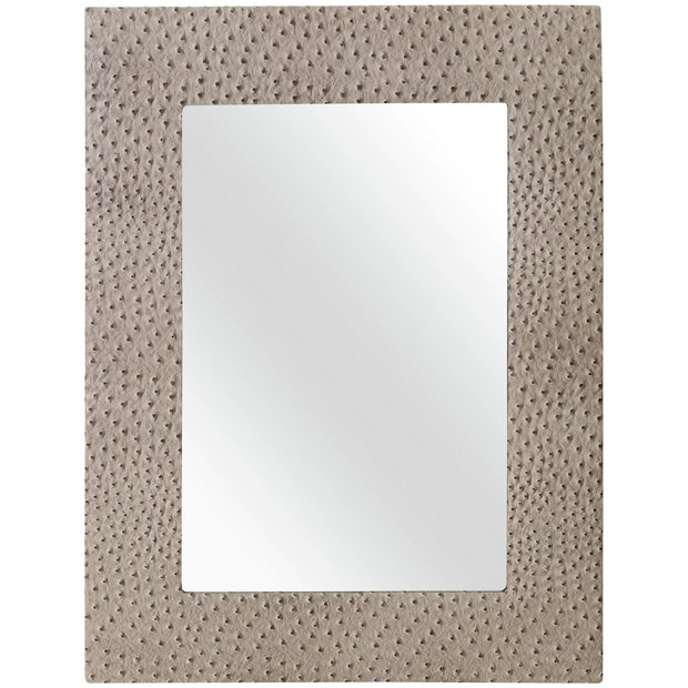 Buy premier housewares ostrich wall mirror at for Where to find mirrors