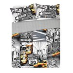 more details on HOME New York Taxis Bedding Set - Double.
