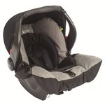 more details on Graco Snugfix Group 0 Plus Car Seat - Slate.