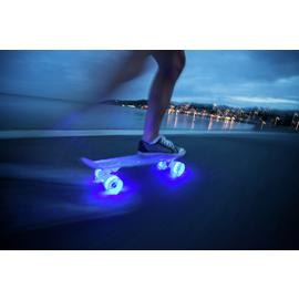 Mello LED 22 Inch Cruiser Skateboard - Blueberry