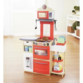Little Tikes Cook 'N' Store Kitchen - Red.