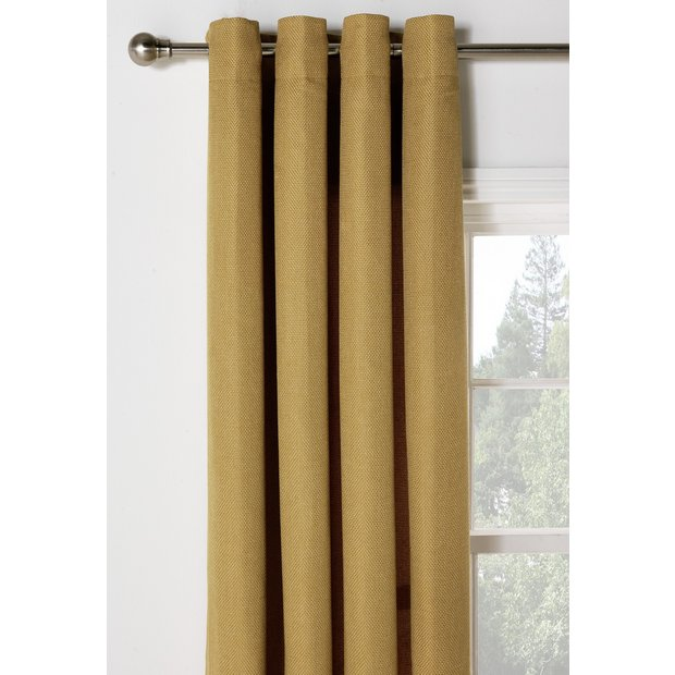 Buy Heart Of House Hudson Lined Eyelet Curtains 168x183cm