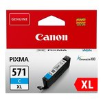 more details on Canon CLI-571XL Cyan Ink Cartridge.